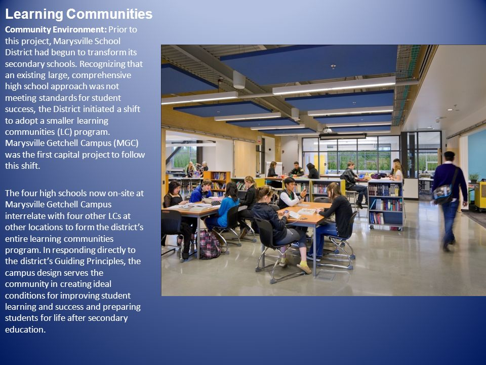 Community Involvement Planning Process: Planning and conceptual design spanned four months.