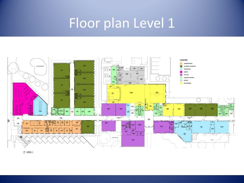 Floor plan Level 1
