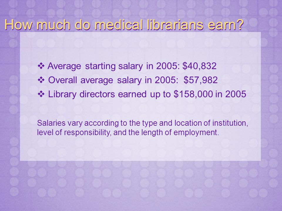 What do I need to do to become a medical librarian.