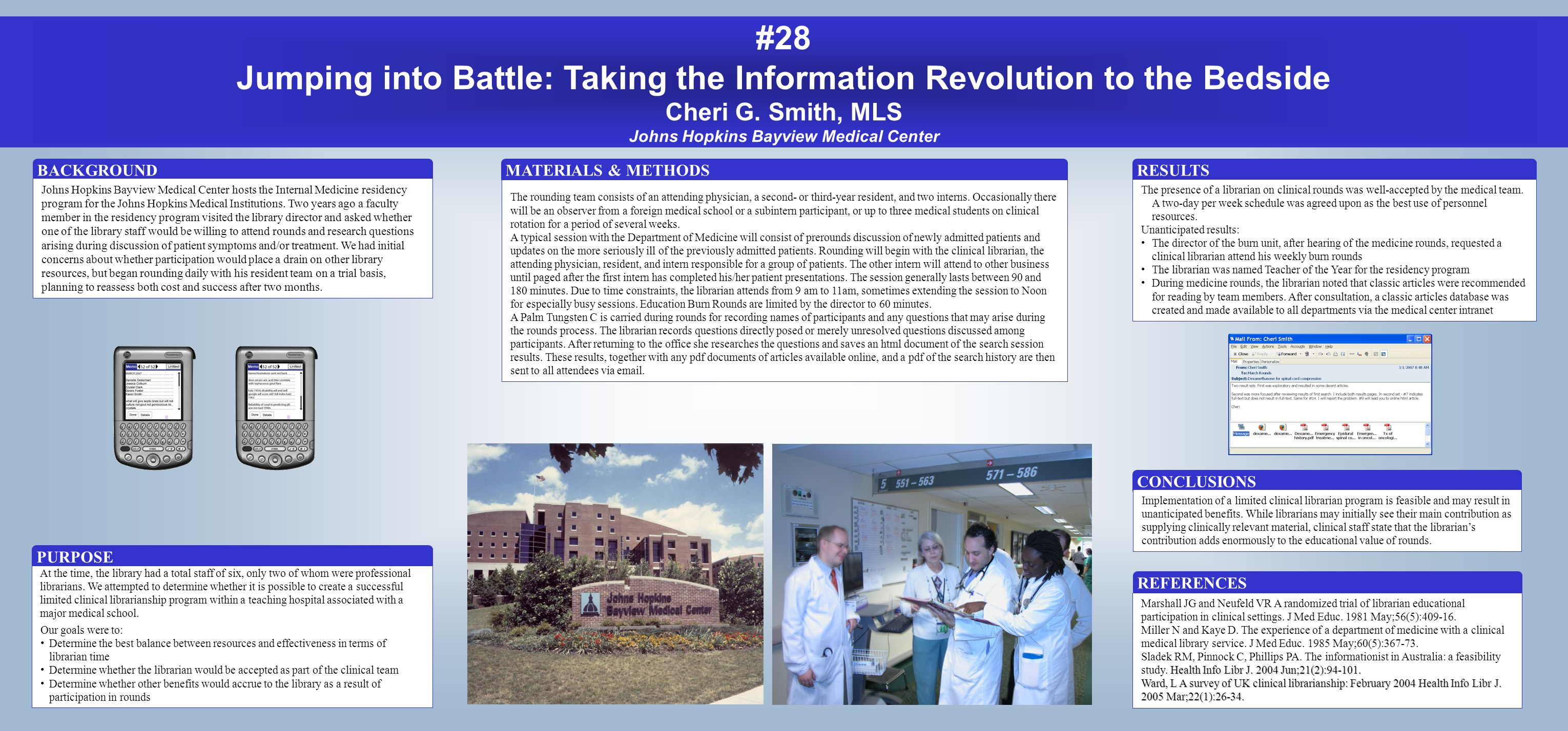 #28 Jumping into Battle: Taking the Information Revolution to the Bedside Cheri G.