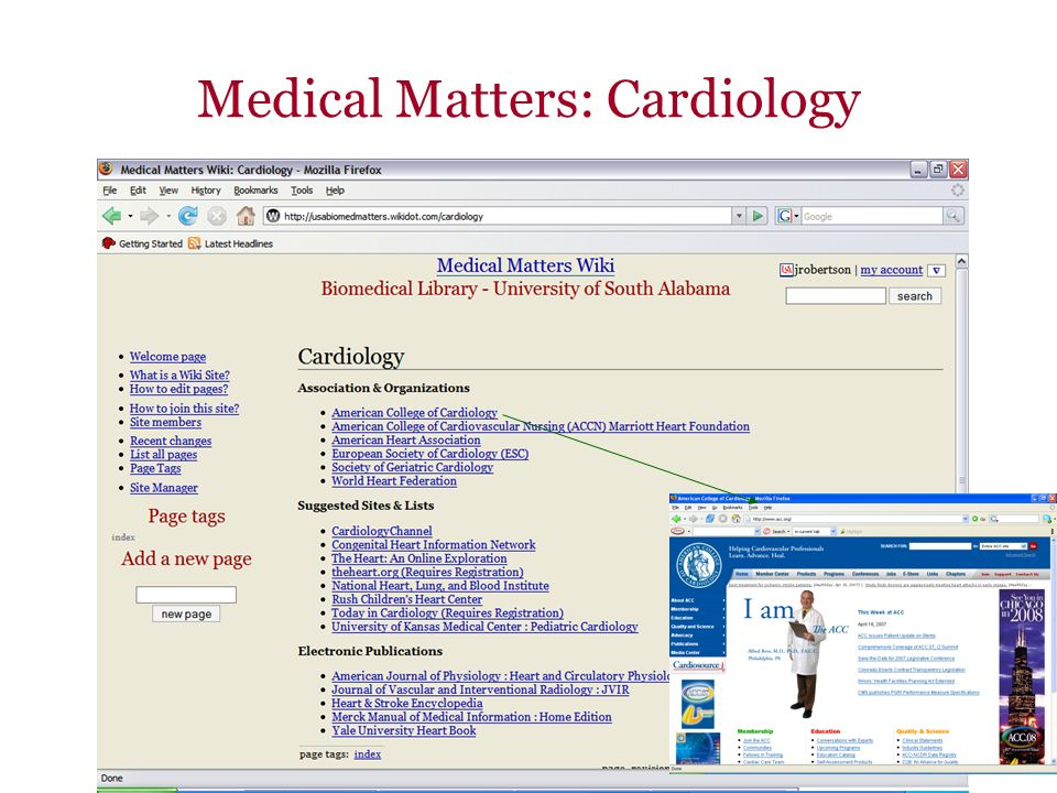 Medical Matters: Cardiology
