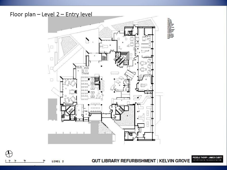 Floor plan – Level 2 – Entry level