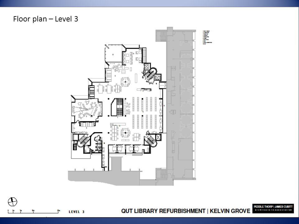 Floor plan – Level 3