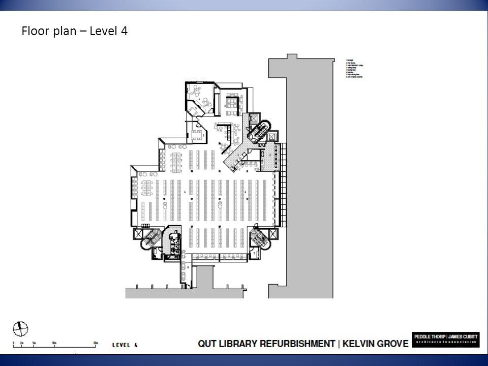 Floor plan – Level 4