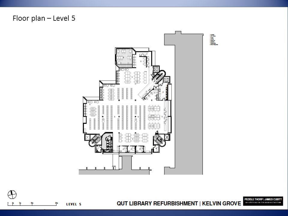 Floor plan – Level 5