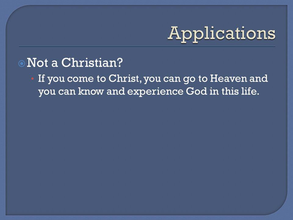 Not a Christian.