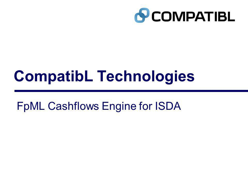 CompatibL Technologies FpML Cashflows Engine for ISDA
