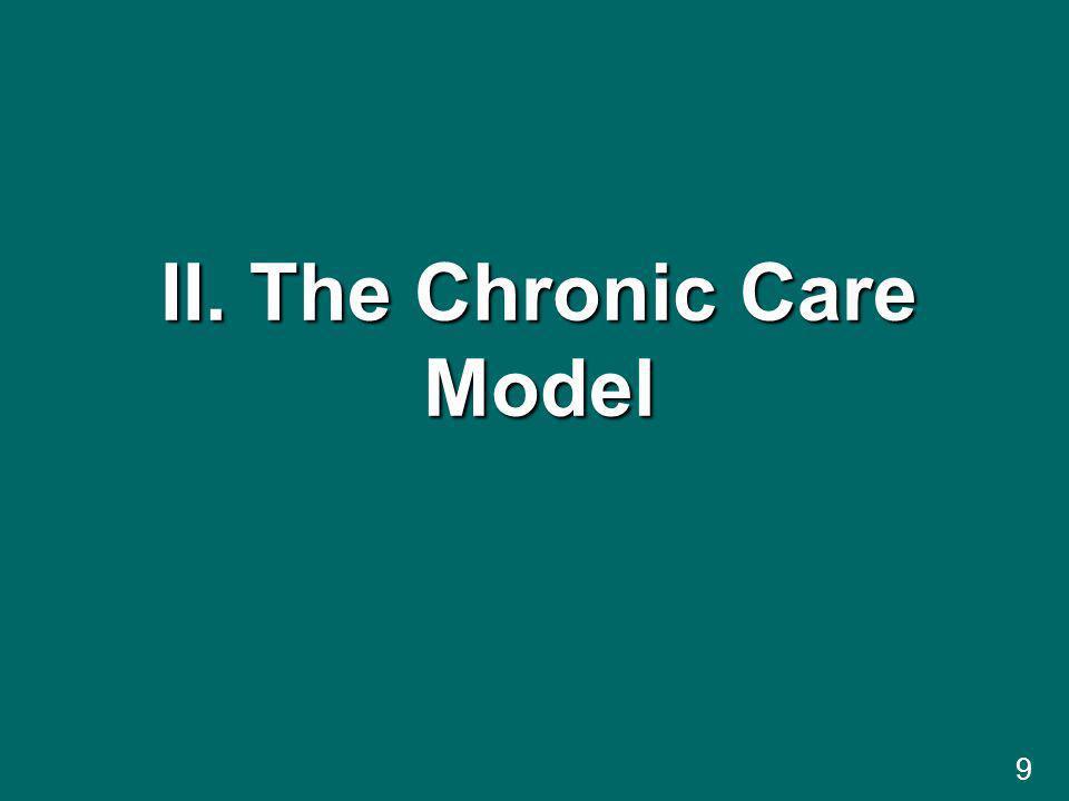 9 II. The Chronic Care Model