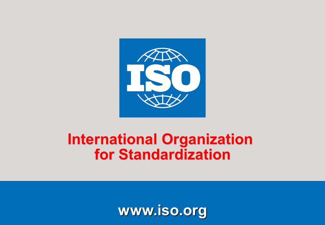1Running title of presentation PR/mo/item ID Date www.iso.org International Organization for Standardization www.iso.org International Organization fo