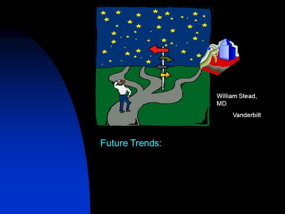 Future Trends: William Stead, MD Vanderbilt