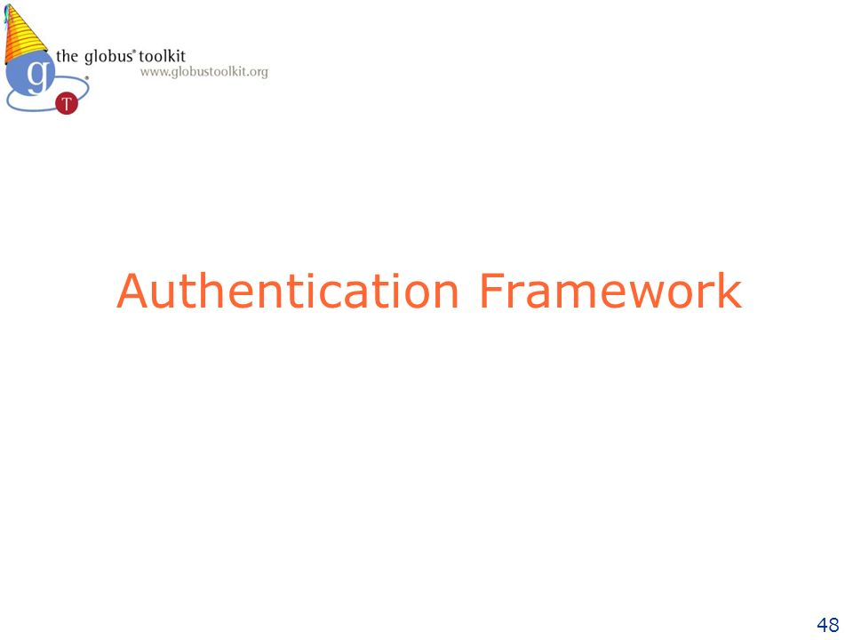48 Authentication Framework