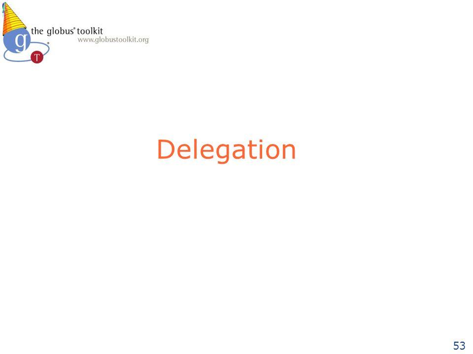 53 Delegation
