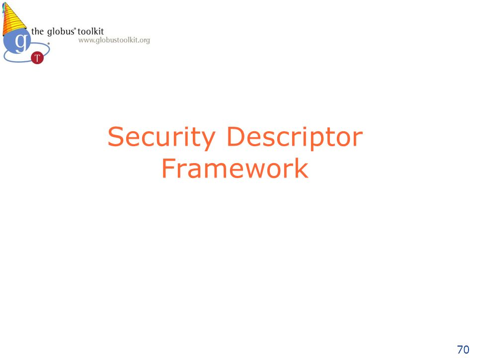 70 Security Descriptor Framework