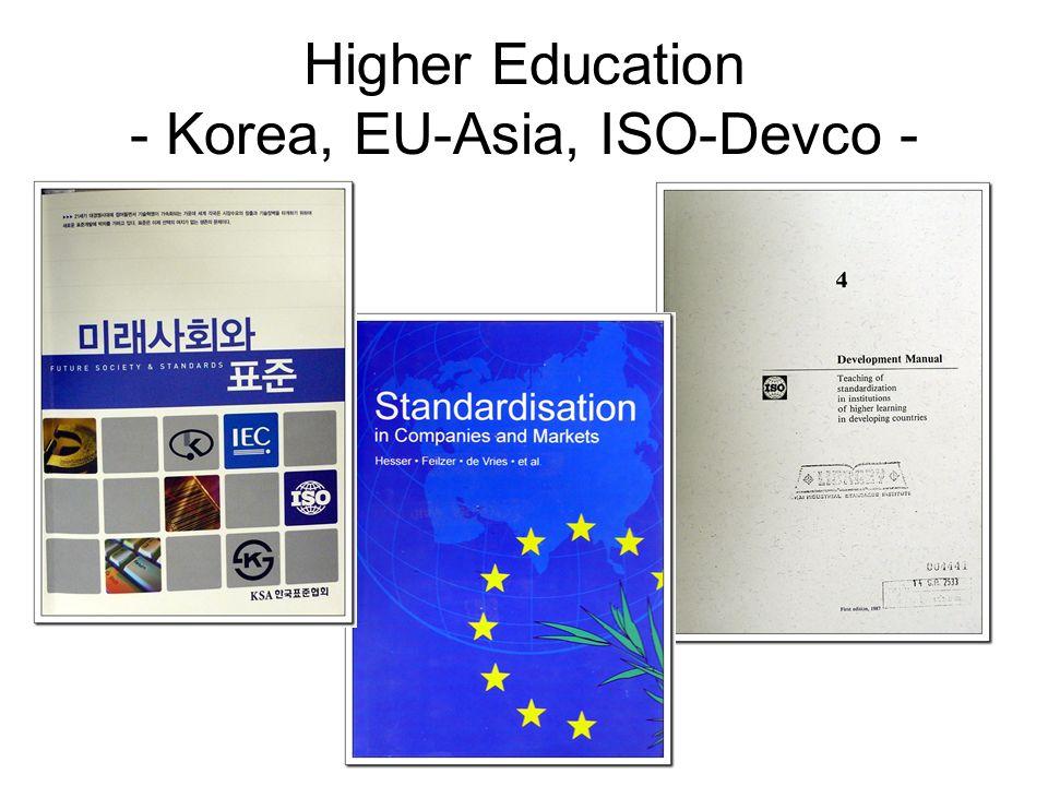 Higher Education - Korea, EU-Asia, ISO-Devco -
