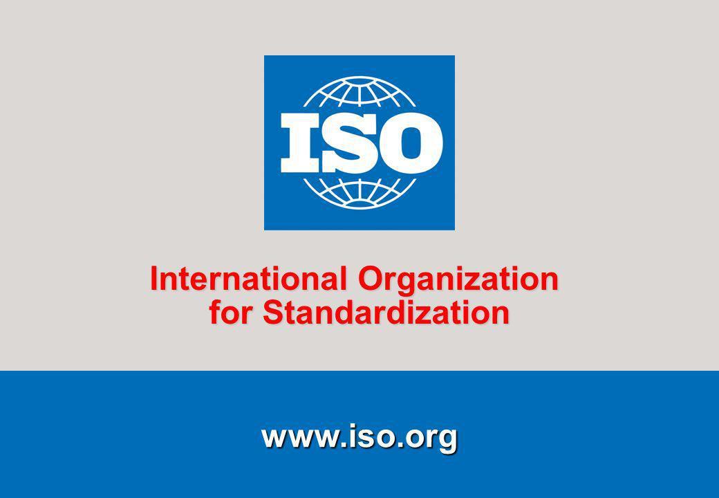 1Presentation to OECD/CCP COPOLCO 2006-03-27 www.iso.org International Organization for Standardization
