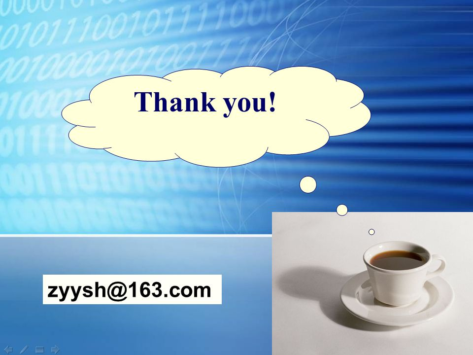 Thank you! zyysh@163.com