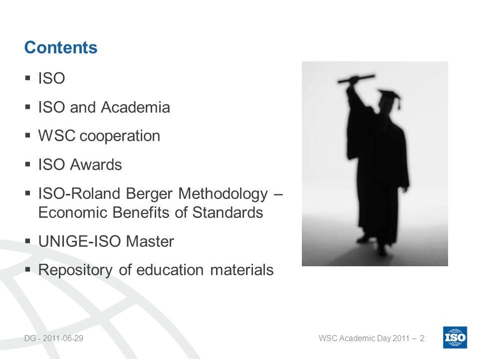 DG - 2011-06-29WSC Academic Day 2011 –13