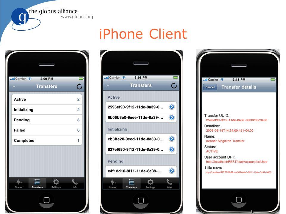 21 iPhone Client