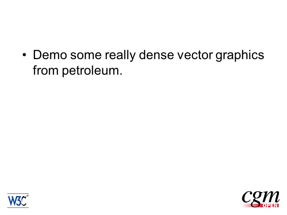 Demo some really dense vector graphics from petroleum.