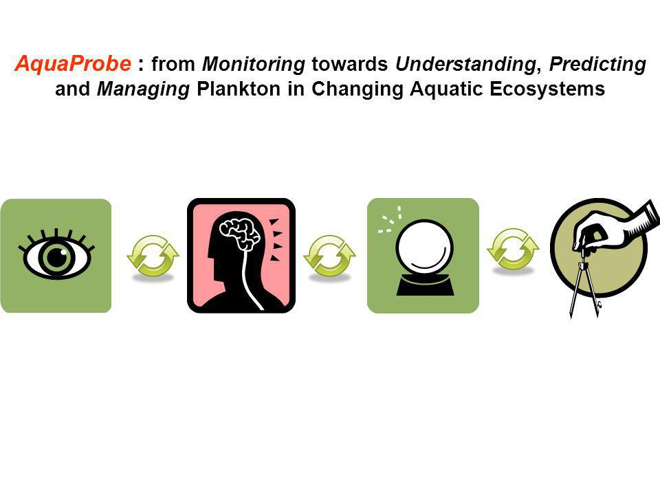 AquaProbe : from Monitoring towards Understanding, Predicting and Managing Plankton in Changing Aquatic Ecosystems
