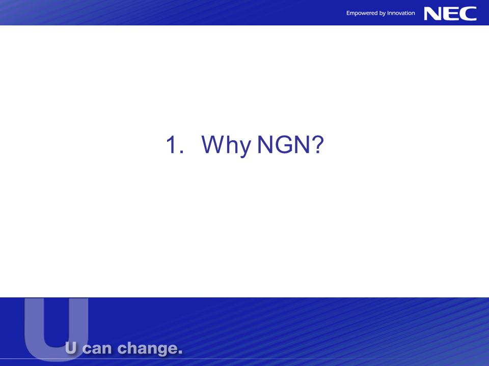 1.Why NGN?