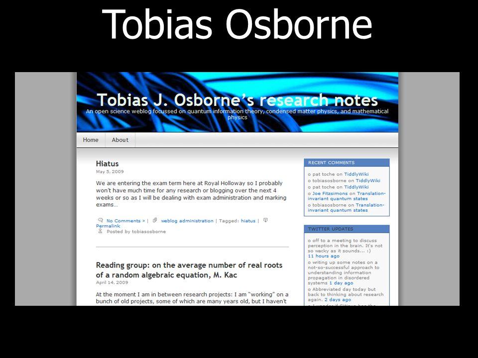 Tobias Osborne