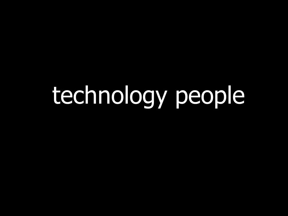 technology people