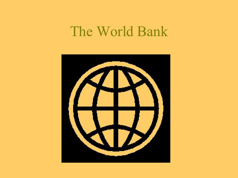 What else can the Bank bring Constant dialogue with the authorities Facilitation of contacts –Regional structures –Working groups Strong partnership with –International organizations (UN agencies, IMF, EU, WTO, WCO) and –The private sector