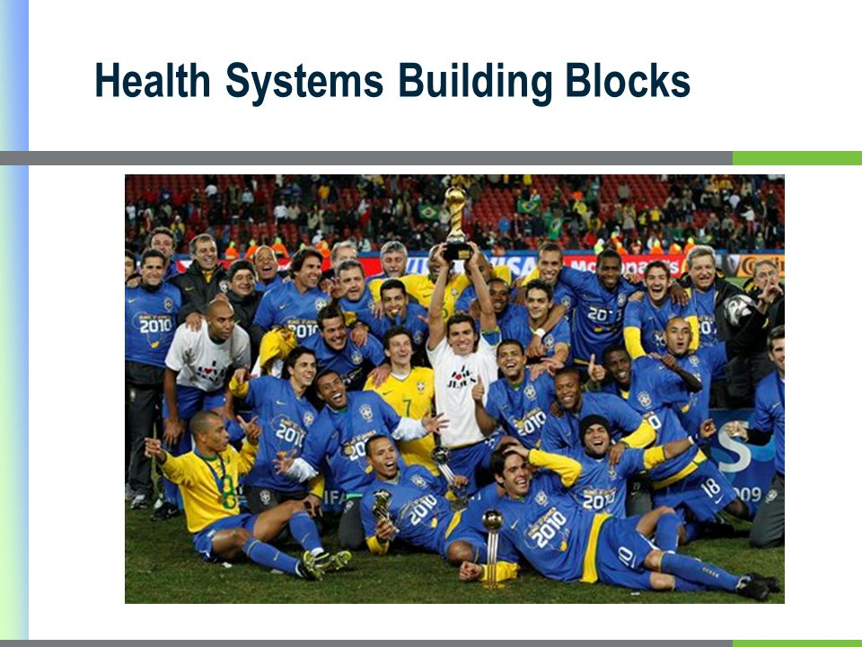 Health Systems Building Blocks