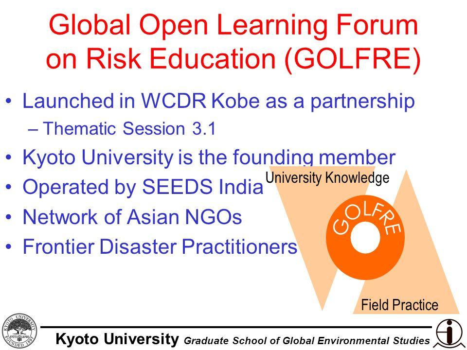 Kyoto University Graduate School of Global Environmental Studies