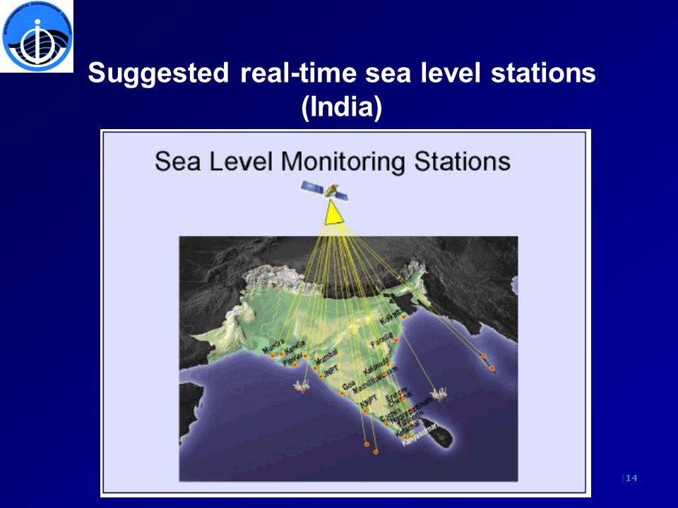 |14 Suggested real-time sea level stations (India)