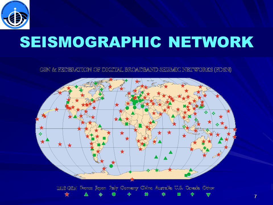 7 SEISMOGRAPHIC NETWORK