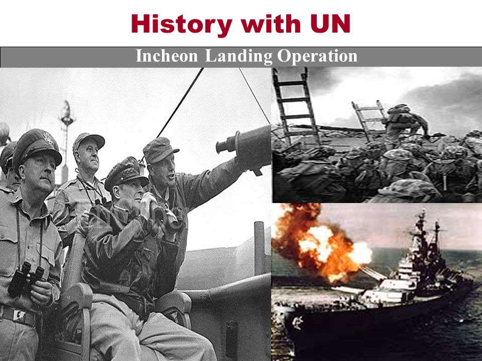 History with UN Incheon Landing Operation