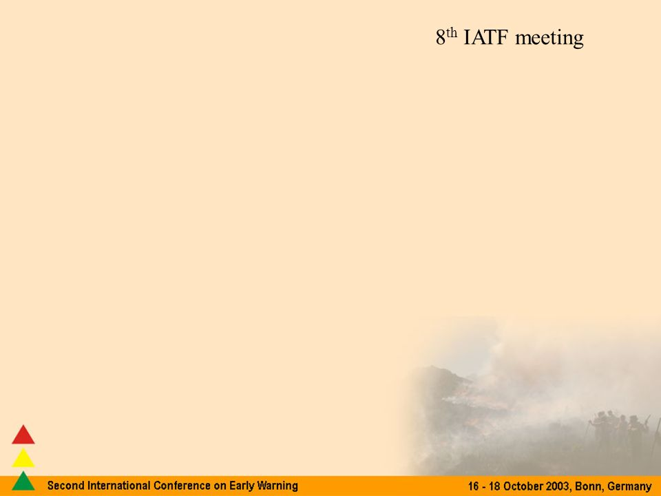 8 th IATF meeting