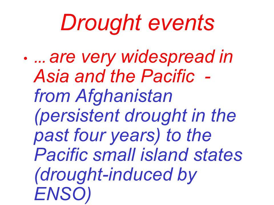 Regional Drought Preparedness Networks NAm GDPN (NDMC) SSA Med Europe SAm CAm S&E Asia CAsia NAm Pacific