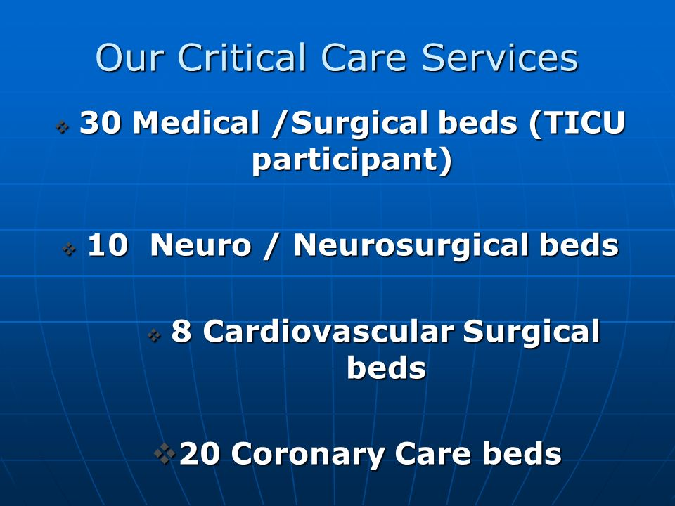 Forsyth Medical Center Winston-Salem, NC An 847 bed not for profit, tertiary care hospital offering a full continuum of emergency, medical, surgical, rehabilitative and behavioral health services.
