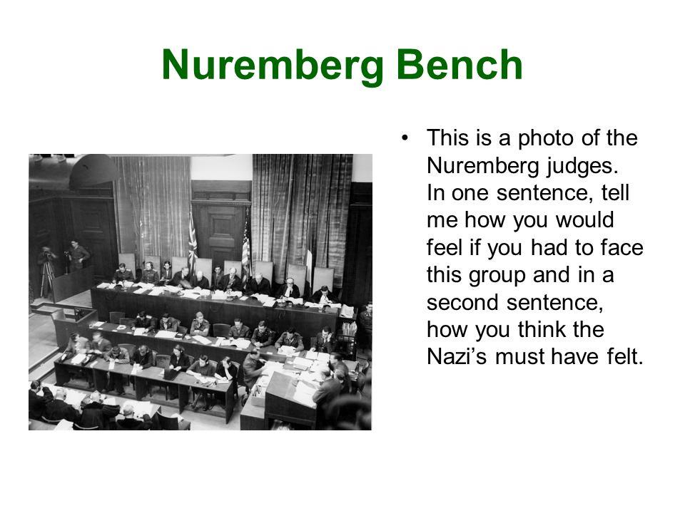 Nuremberg Trial Photographs www.Trumanlibrary.org