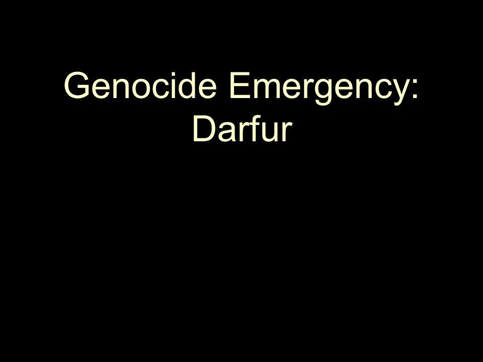 Genocide Emergency: Darfur