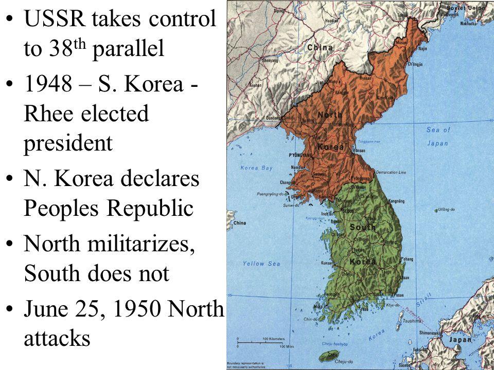 June 27 th, U.N. reacts General Douglas MacArthur –Pusan –Invades Inchon