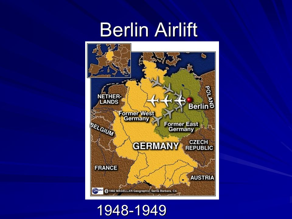 Background There were many questions facing the Allies following World War II One of the biggest involved what should be done with Germany –Having suffered from German Aggression twice in the first half of the 20 th Century, France and the USSR wanted a weakened Germany