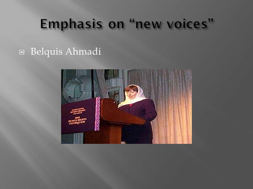 Belquis Ahmadi