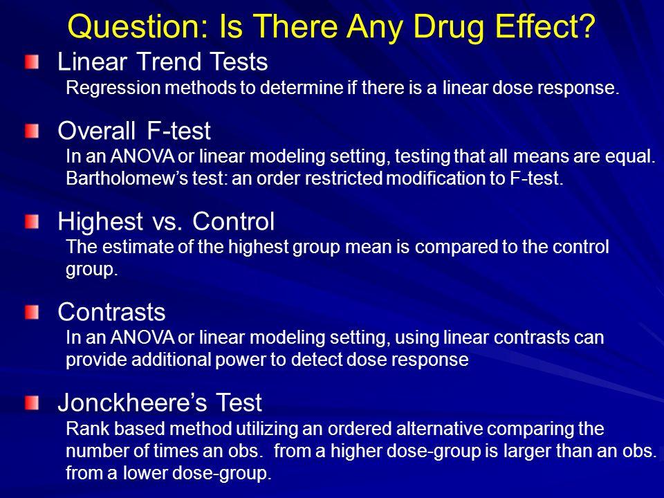 Three Dose Response Scenarios 1) Sigmoid Doses at: 0, 10, 25, 50 and 100