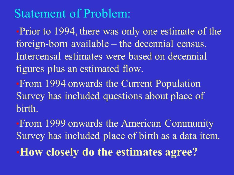 Ethnic Estimates: the Press vs.