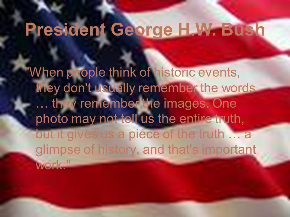 President George H.W.
