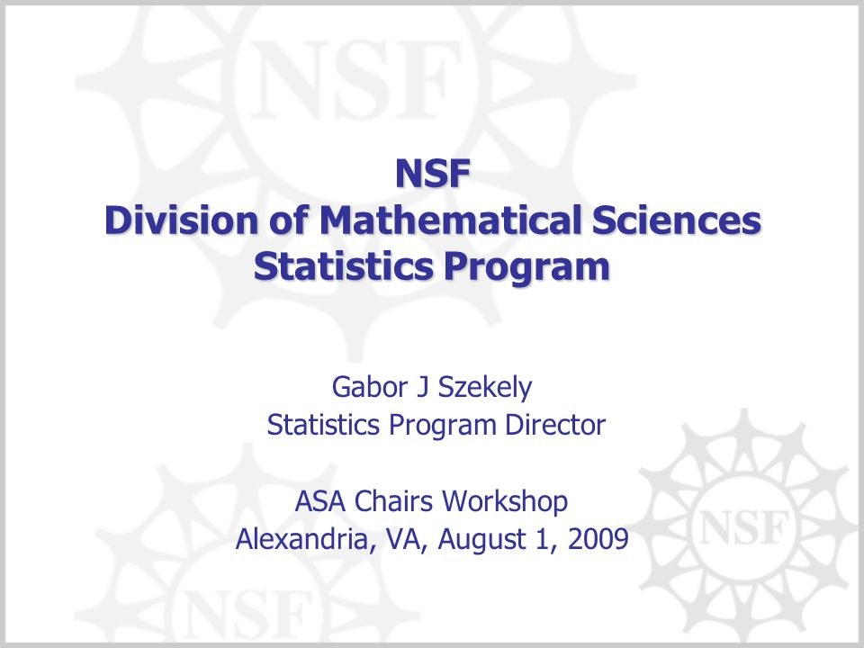 What does Statistics support.