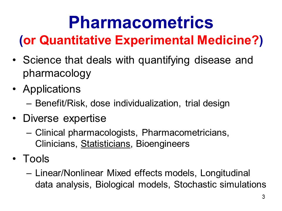 14 Parkinsons Disease Collaboration between Statistics and Pharmacometrics Dr.