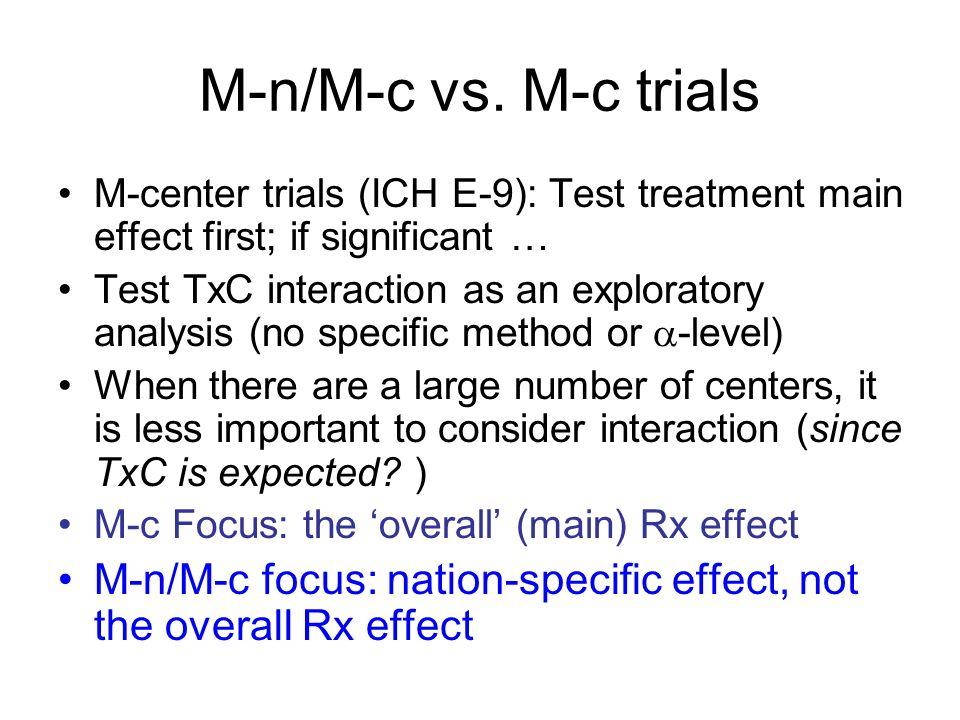 M-n/M-c vs.