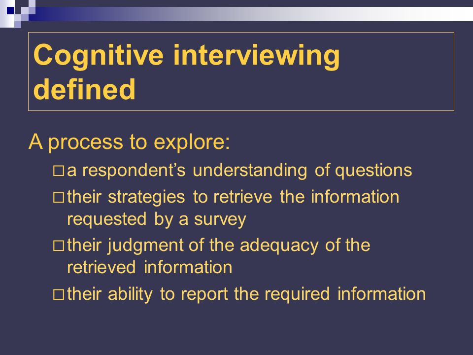 Communication o One of the difficulties encountered in the communication phase of the process for the 2006 Service industry survey was related to response categories.