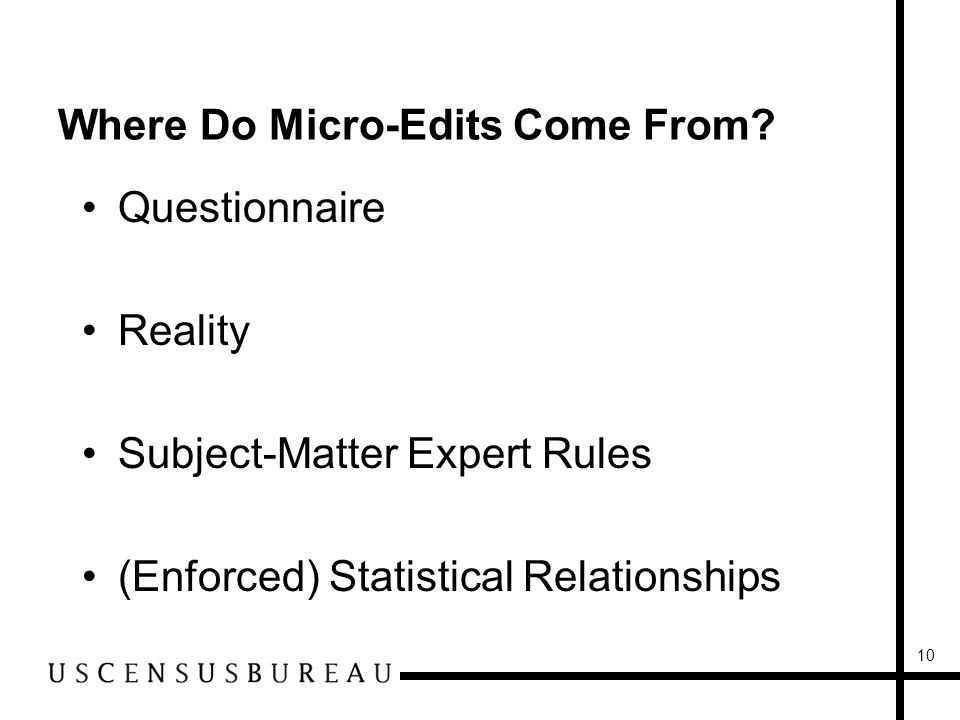 10 Where Do Micro-Edits Come From.