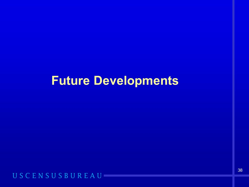 38 Future Developments